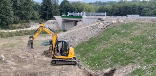 Raport z budowy obwodnicy Sanoka. Zakończenie planują na koniec bieżącego roku [FOTO] - Aktualności Podkarpacie - zdj. 5